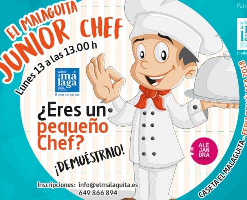 EL MALAGUITA JUNIOR CHEF 2018